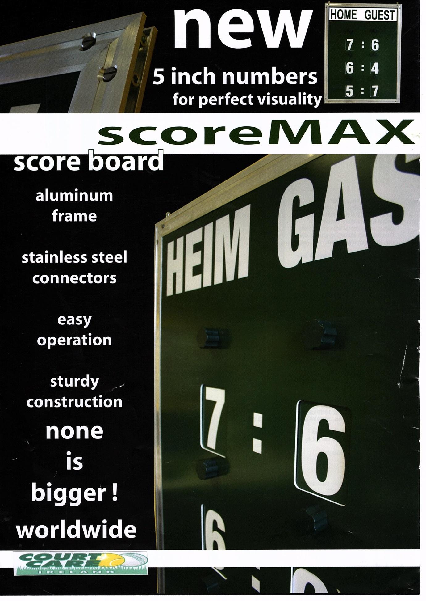 Scoremax overview